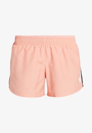 RUN SHORT - Short de sport - pink quartz/white