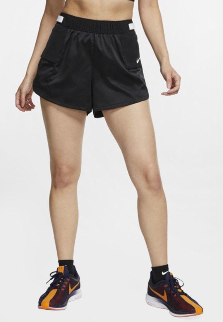 Nike Performance - W NK TEMPO LX REBEL - kurze Sporthose - black/white