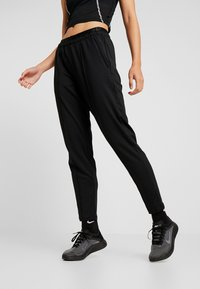 Nike Performance - TRACK PANT - Trainingsbroek - black/reflective silver - 0