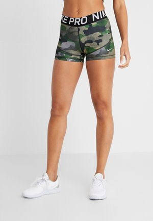 REBEL CAMO - Legging - club gold/white