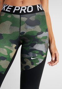 Nike Performance - REBEL 7/8 CAMO - Tights - club gold/black/white - 4