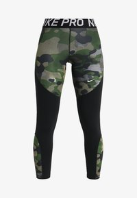 Nike Performance - REBEL 7/8 CAMO - Tights - club gold/black/white - 3