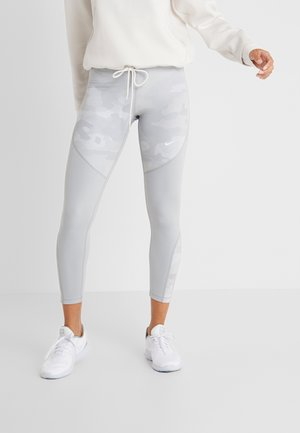 REBEL 7/8 CAMO - Leggings - wolf grey/white
