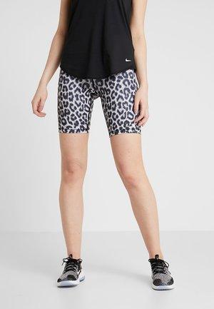 SHORT - Leggings - white/black