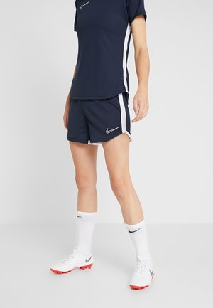 DRI FIT ACADEMY - Sports shorts - obsidian/white