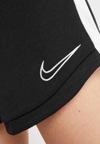 Nike Performance - DRI FIT ACADEMY - Sports shorts - black/white - 5