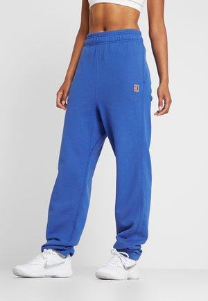 HERITAGE PANT - Tracksuit bottoms - game royal/white