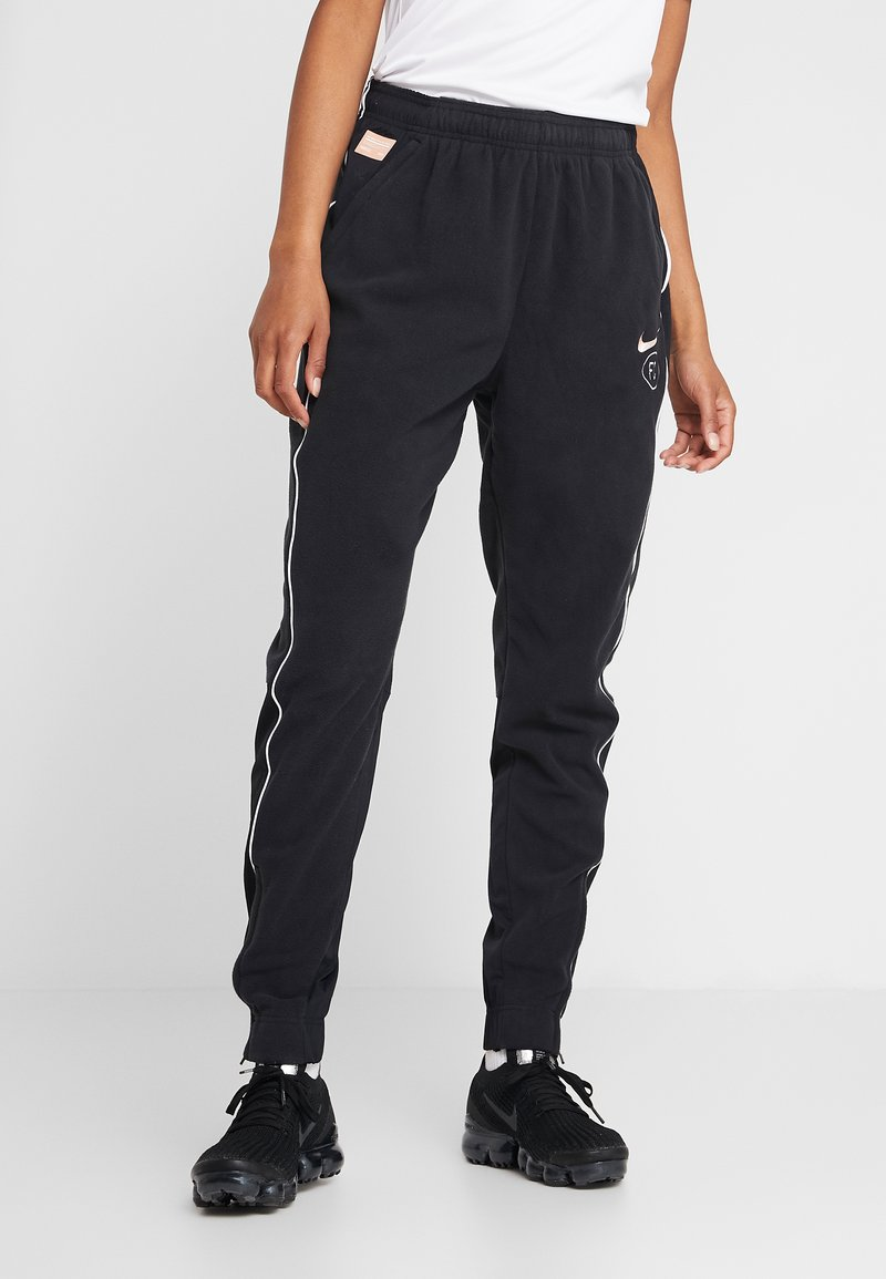 Nike Performance - FC DRY PANT  - Tracksuit bottoms - black/white/rose gold