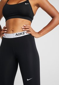Nike Performance - MARBLE CROP - Medias - black/white - 4