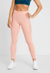 Nike Performance - WARM HOLLYWOOD - Tights - pink quartz/clear - 0