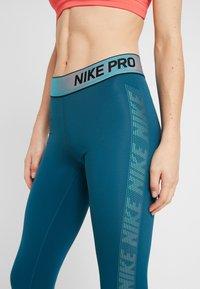 Nike Performance - Legging - midnight turq/black - 4