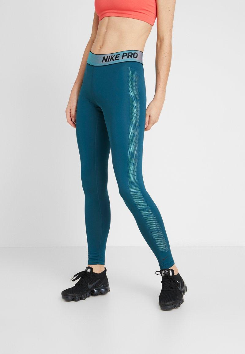 Nike Performance - Collants - midnight turq/black