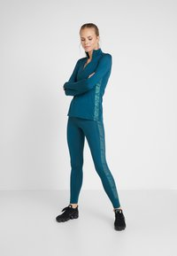 Nike Performance - Legging - midnight turq/black - 1