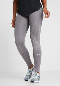 Nike Performance - FAST - Legging - gunsmoke/white - 0