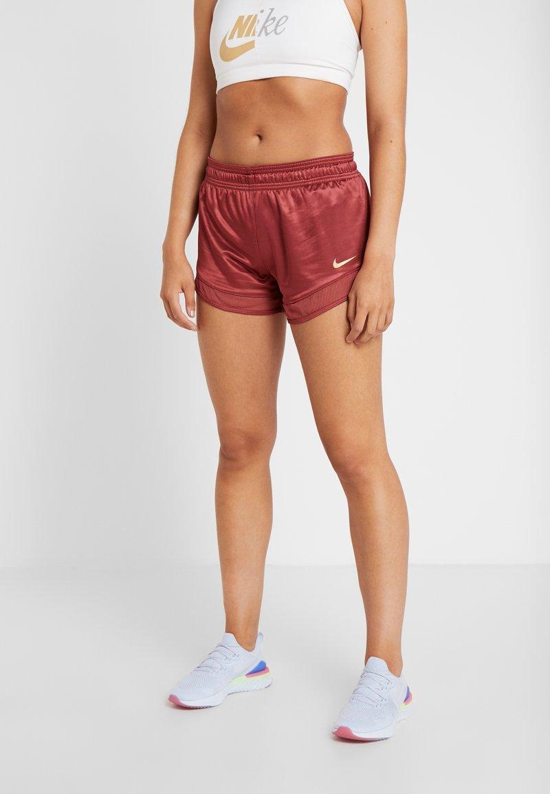Nike Performance - SHORT GLAM - Sports shorts - cedar/metallic gold