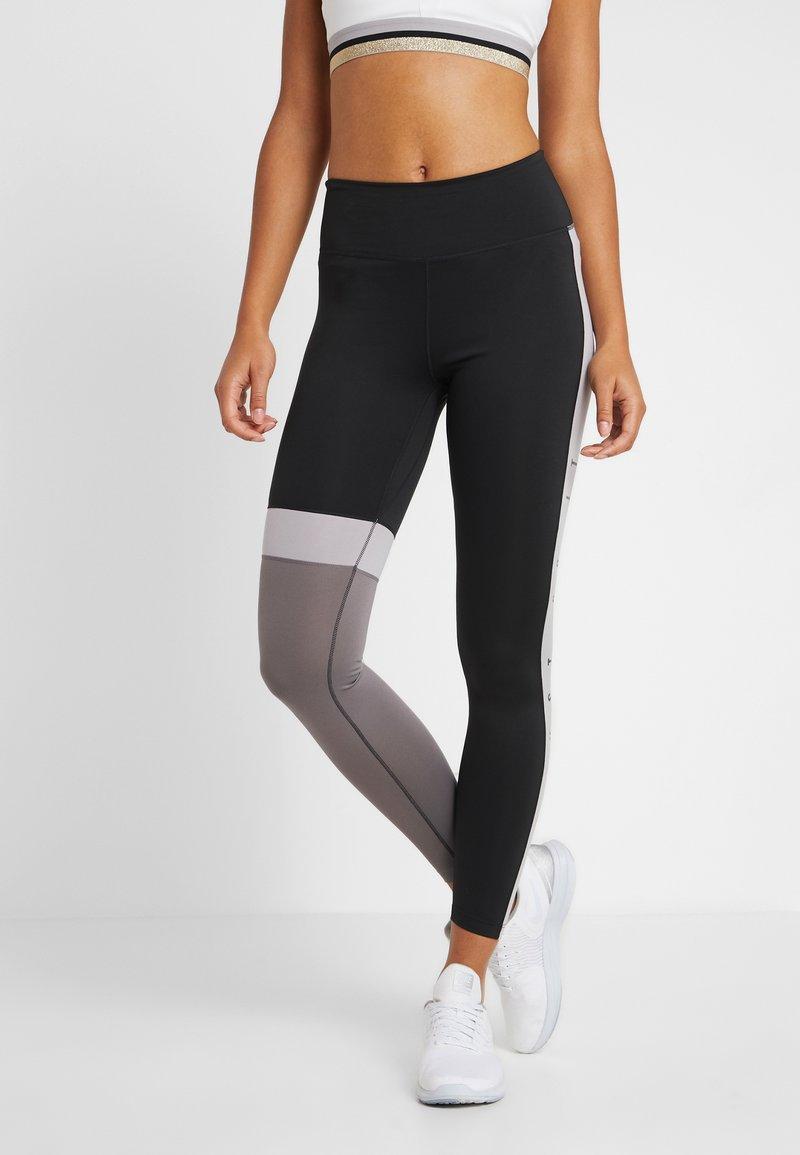 Nike Performance - ONE - Leggings - black/gunsmoke/atmosphere grey