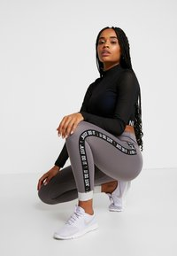 Nike Performance - ONE ICON  - Tights - gunsmoke/black - 3