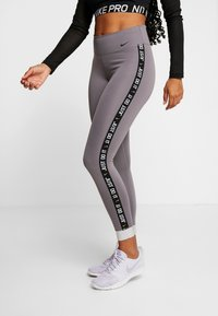 Nike Performance - ONE ICON  - Tights - gunsmoke/black - 0