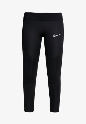EPIC LUX - Leggings - black/reflective silver