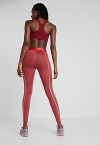 Nike Performance - HYPERWARM - Tights - cedar/metallic silver