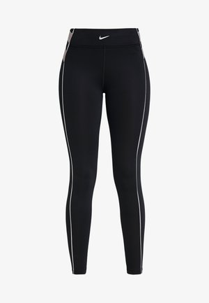 HYPERWARM - Legginsy - black/metallic silver