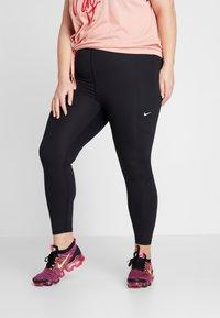 Nike Performance - WARM NEW PLUS - Collant - black/gunsmoke/white - 0