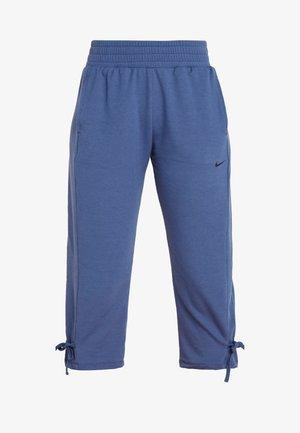 YOGA PANT CROP - Pantalon 3/4 de sport - mystic navy/black
