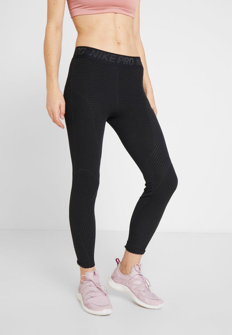 Nike Performance - Leggings - black/black