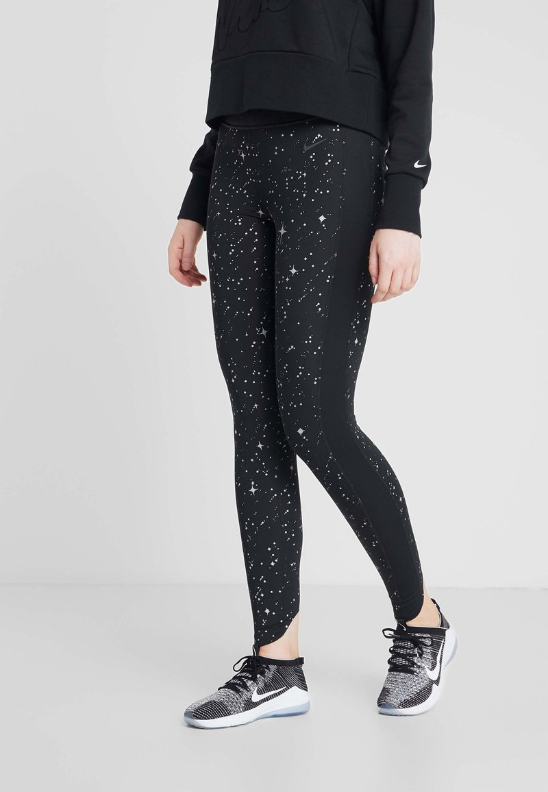 Nike Performance - STARRY - Collant - black/thunder grey