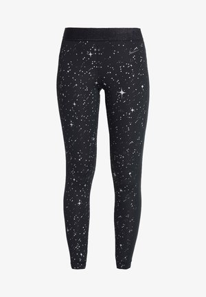 STARRY - Legging - black/thunder grey