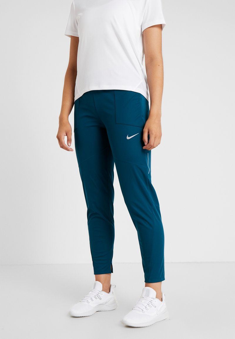 Nike Performance - SHIELD PROTECT PANT - Pantalones deportivos - midnight turq/silver