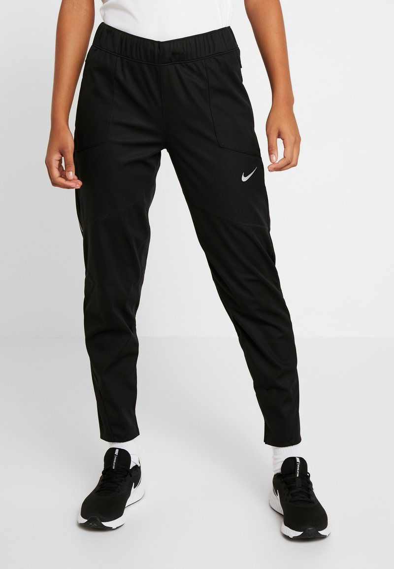 Nike Performance - SHIELD PROTECT PANT - Joggebukse - black/silver