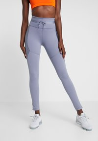 Nike Performance - CITY REFLECT - Legging - stellar indigo/reflect black - 0