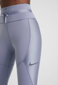 Nike Performance - CITY REFLECT - Legging - stellar indigo/reflect black