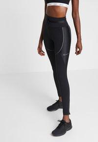 Nike Performance - CITY REFLECT - Collant - black/reflect black - 0