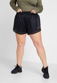Nike Performance - Pantaloncini sportivi - black/metallic gold - 0