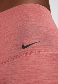Nike Performance - YOGA  - Legginsy - cedar/heather/light redwood/black - 5