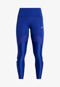 Nike Performance - SPEED GLAM - Legging - deep royal blue/metallic gold - 5