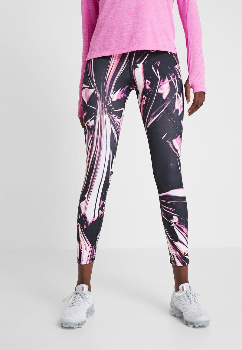 Nike Performance - EPIC - Legging - fire pink/black