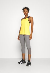 Nike Performance - CROP - Punčochy - gunsmoke/heather/gunsmoke/black - 1