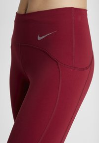 Nike Performance - PEED - Leggings - team red/limelight - 5