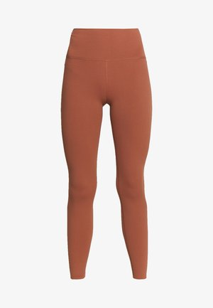 THE YOGA LUXE - Tights - red bark/terra blush