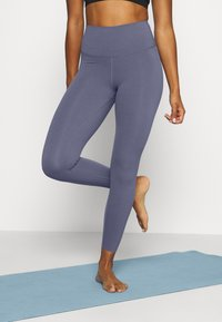 Nike Performance - THE YOGA LUXE - Legging - diffused blue/obsidian mist - 0