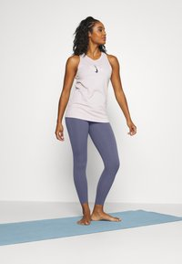 Nike Performance - THE YOGA LUXE - Legging - diffused blue/obsidian mist - 1