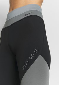 Nike Performance - ONE - Tights - smoke grey/black/particle grey - 4
