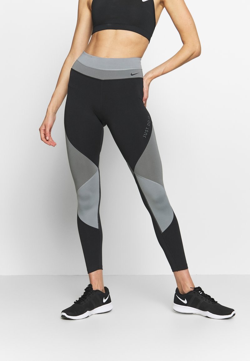 Nike Performance - ONE - Tights - smoke grey/black/particle grey