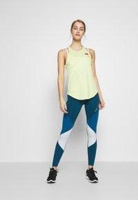 Nike Performance - ONE - Leggings - limelight/valerian blue/aura/black - 1