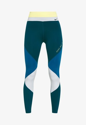 ONE - Legging - limelight/valerian blue/aura/black