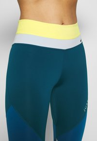 Nike Performance - ONE - Leggings - limelight/valerian blue/aura/black - 4