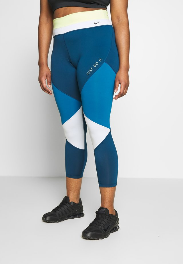ONE PLUS - Leggings - limelight/valerian blue/aura/black